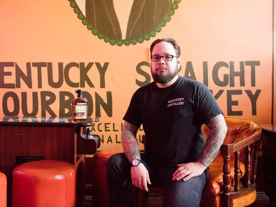 Eric Snider, the Bar Manager at the Haymarket Whiskey