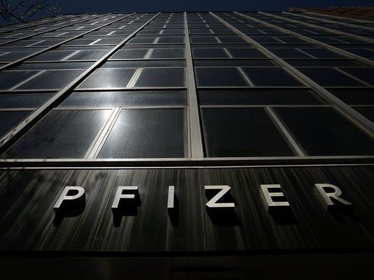 PFIZER Q1 2016 EARNINGS