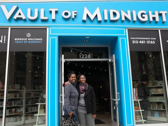 The Vault of Midnight comic shop opened in downtown Detroit in 2016.
