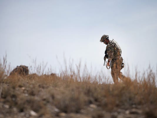 U.S. Soldiers Continue Patrols Outside FOB Shank In Afghanistan