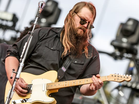 FILE - In this April 30, 2016, file photo, Chris Stapleton
