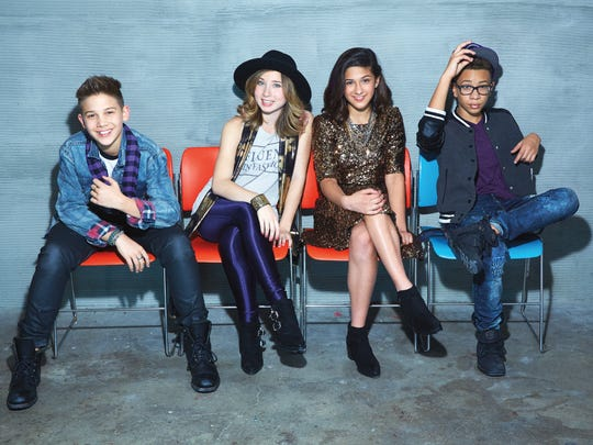 The Kidz Bop Kidz cover Justin Bieber, Taylor Swift and other teen faves on their latest compilation.