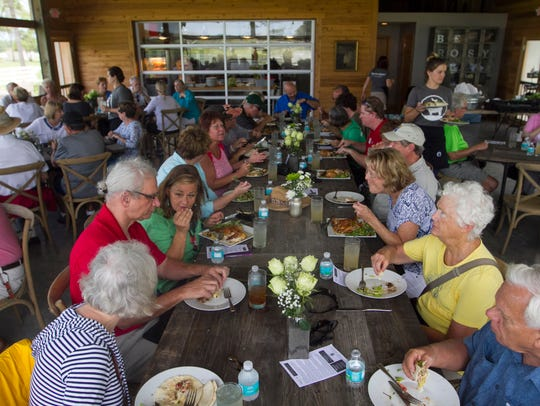 Rosy Tomorrows Heritage Farm in North Fort Myers features an on-farm dining room for brunch and special events.