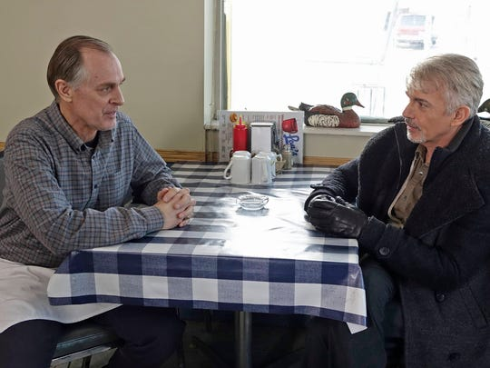Keith Carradine, left, and Billy Bob Thornton starred