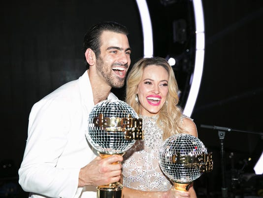 Dancing with the Stars Nyle DiMarco, Peta Murgatroyd