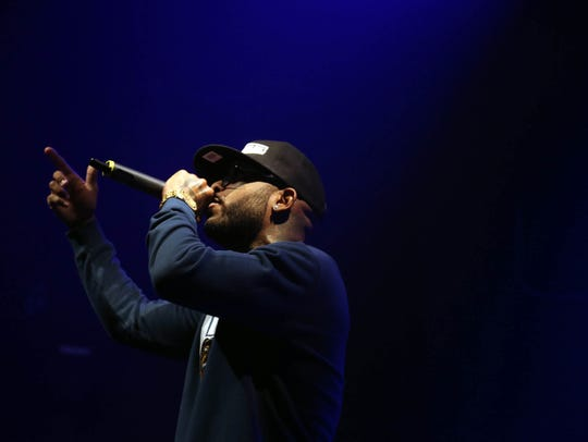 "Royce da 5'9"" performs at Gramercy Theatre on October"