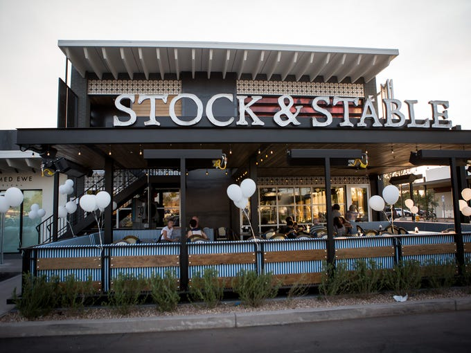 The scene during Stock & Stable's VIP Event on Thursday,