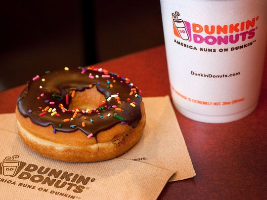 Dunkin Donuts was named best coffee and quick service restaurant by a Harris Poll brand survey.