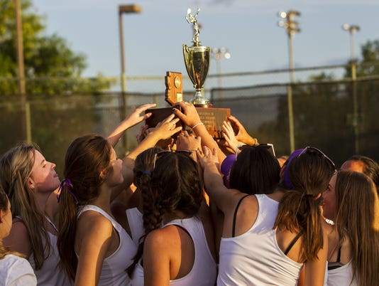 Division II tennis state championships
