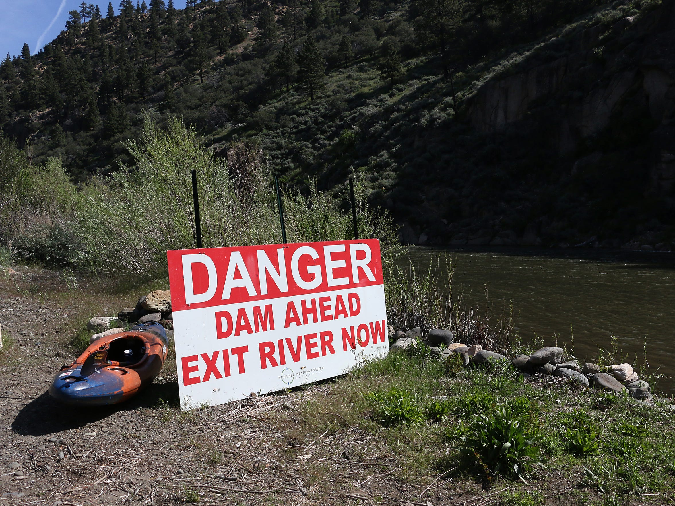 RGJ reporters Ben Spillman and Jason Bean paddle the Truckee River from Truckee to Pyramid Lake during May of 2016.