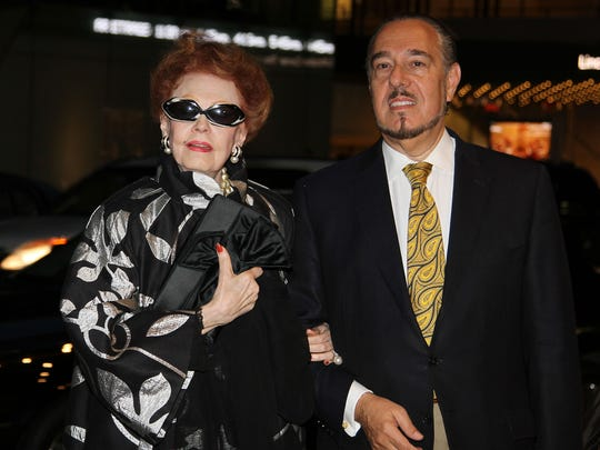 Arlene Dahl and Marc Rosen have a weekend home in Sparkill.