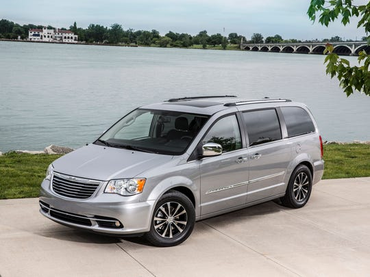 2016 Chrysler Town & Country ranked first in the Minivan category in J.D. Power's Initial Quality Survey.