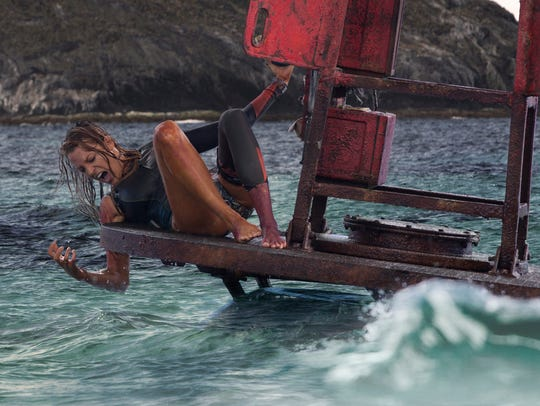 "Nancy (Blake Lively) in Columbia Pictures' ""The Shallows."""