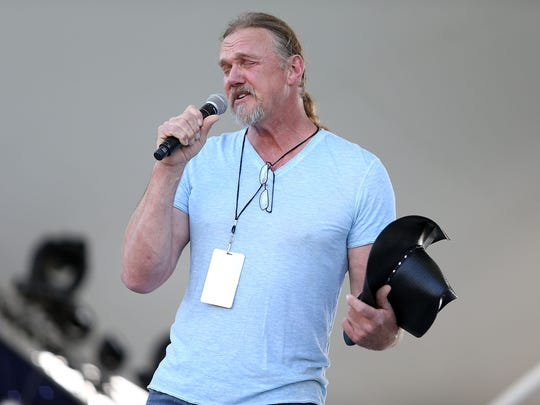 Trace Adkins performs during the 27th National Memorial Day Concert rehearsals on May 28, 2016 in Washington, DC.
