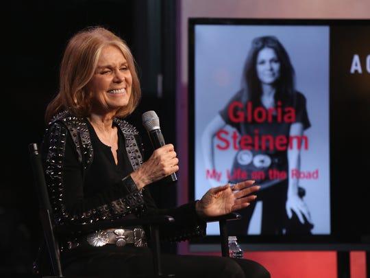 Gloria Steinem talks about her memoir in New York in