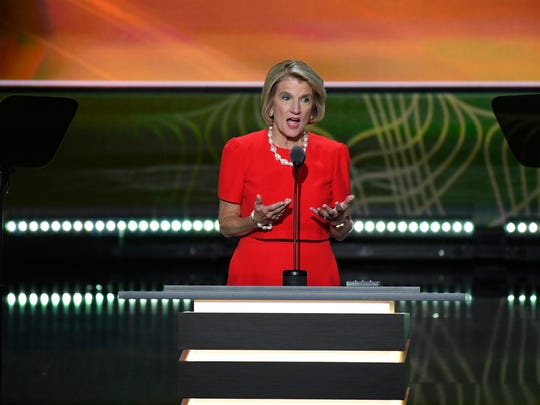 Sen. Shelley Moore Capito, R-W.Va., speaks during the