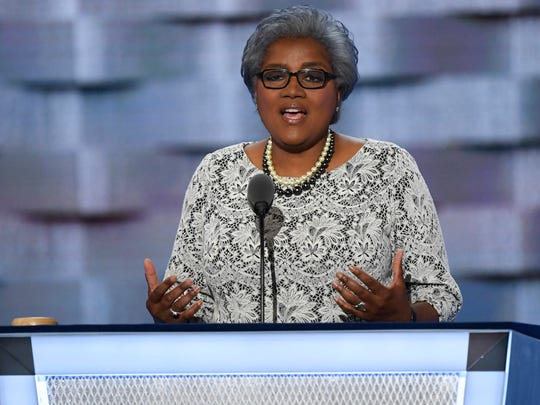 Donna Brazile, interim Democratic National Committee