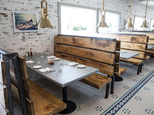Interior of the restaurant. Daymark Bar & Restaurant