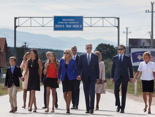 Bidens in Kosovo