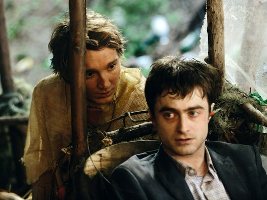"""Paul Dano and Daniel Radcliffe in a scene from, """"Swiss Army Man."""""""