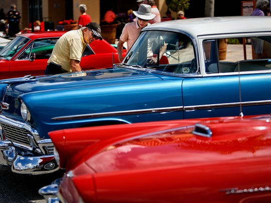 Archive photo. Cool Cruisers Car Show at Miromar Outlet Center in Estero on Sunday, March 1, 2015. Scott McIntyre/Staff