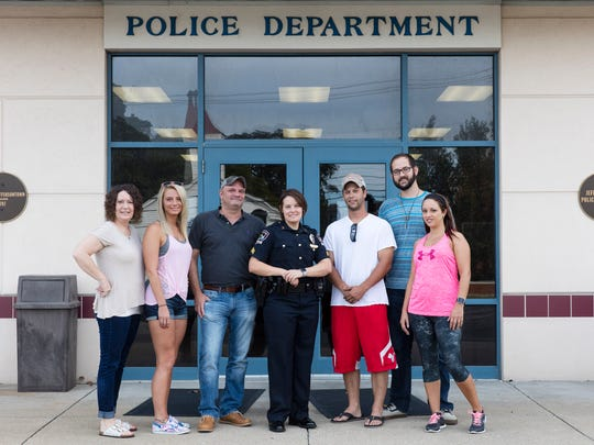 Sergeant Brittney Garrett and others involved in the