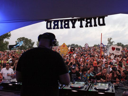 Claude VonStroke brought his Dirtybird BBQ concert series to Belle Isle in Detroit for a two-day celebration in August, 2016.