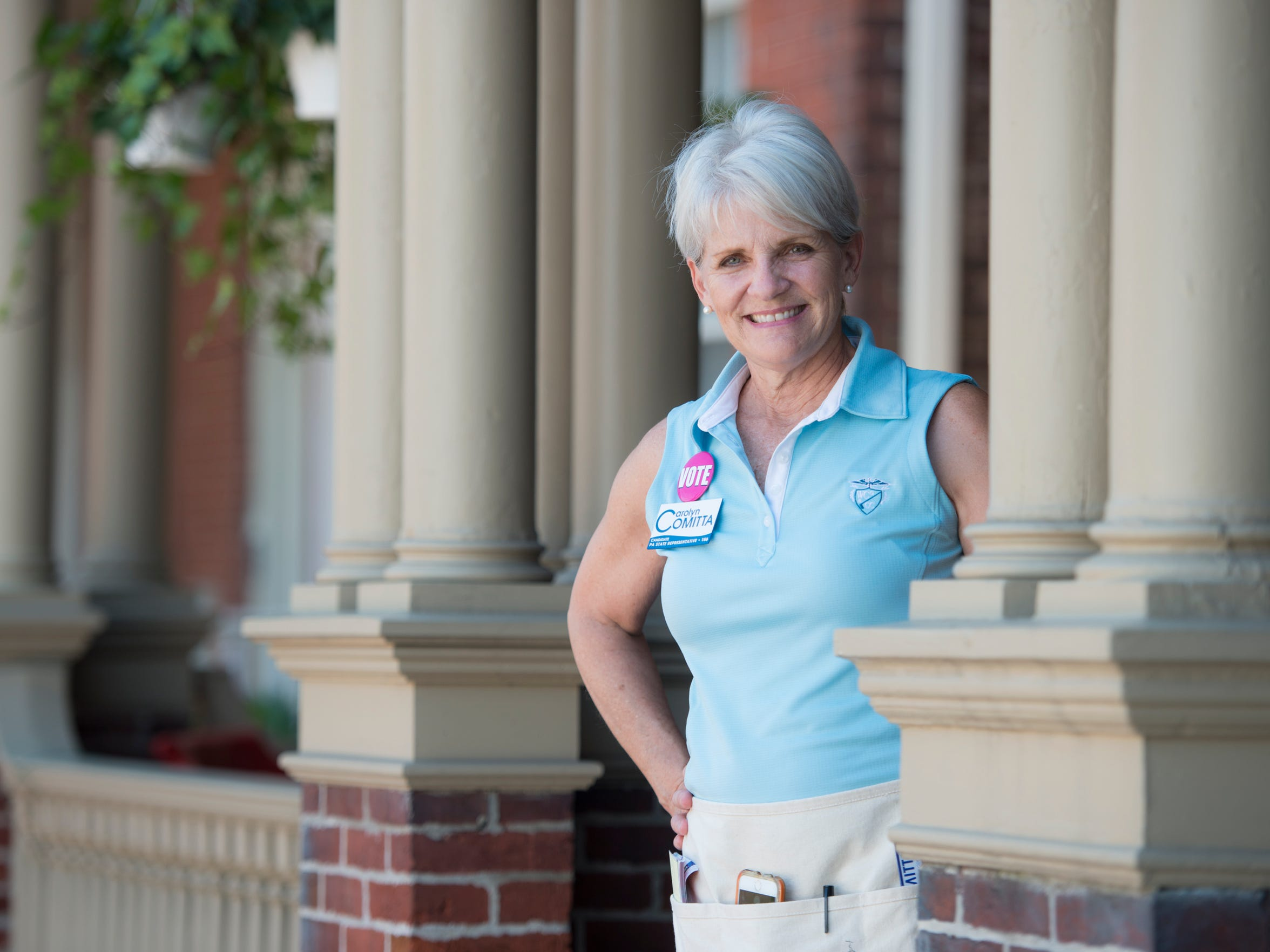 Carolyn Comitta is the mayor of West Chester. Pa.,