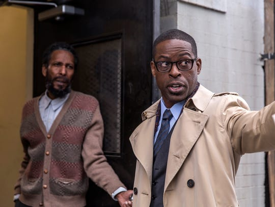 Ron Cephas Jones is William and  Sterling K. Brown