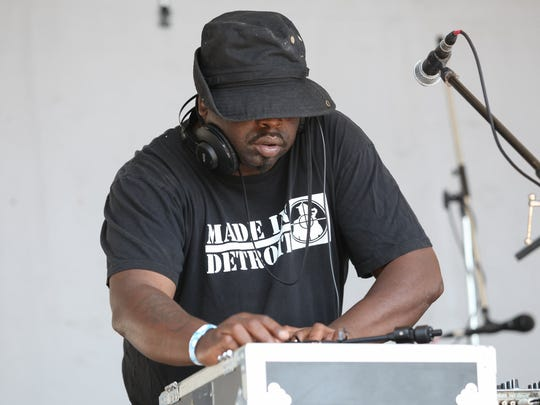 Flint native DJ Psycho performs during the second annual