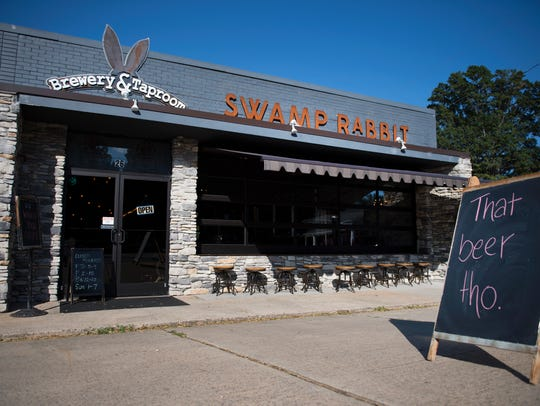 The Swamp Rabbit Brewery on Wednesday, September 14,