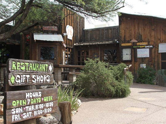 Restaurant and saloon Horny Toad in Cave Creek.