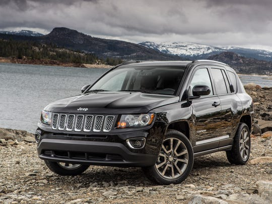 The 2014 Jeep Compass.