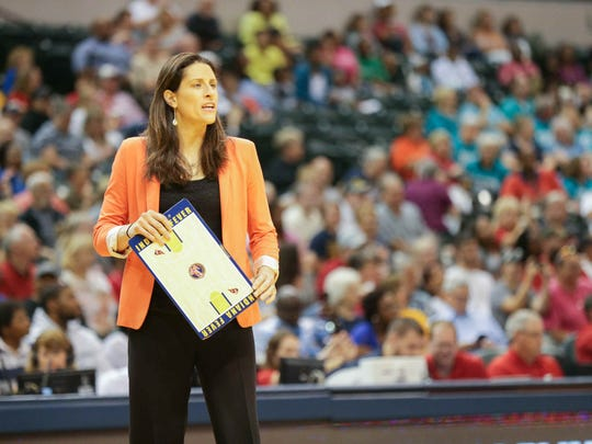 Stephanie White leads the Fever into the WNBA playoffs
