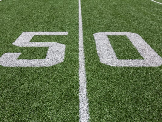 Yard Lines on a Football Field