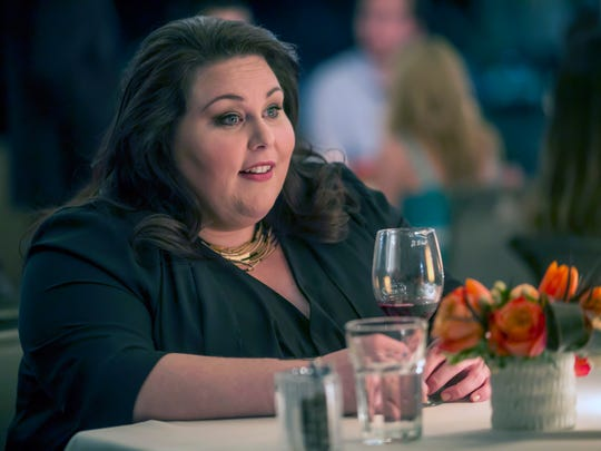 Chrissy Metz plays Kate in the new NBC drama 'This