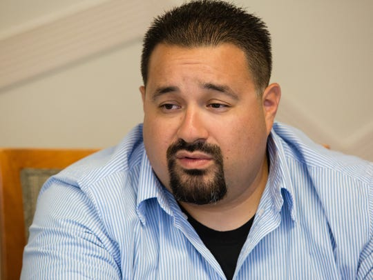 Adrian Rodriguez is running for one of four seats on