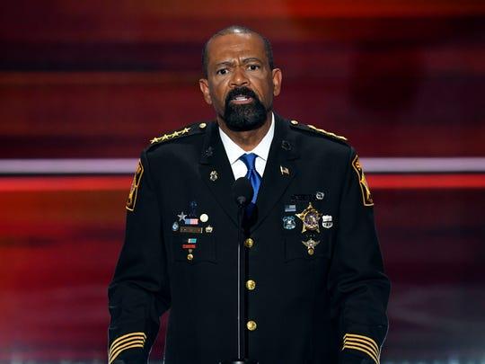 Milwaukee County Sheriff David A. Clarke Jr.