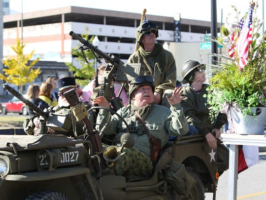 The Veterans Day Parade is Nov. 5 in downtown Springfield.