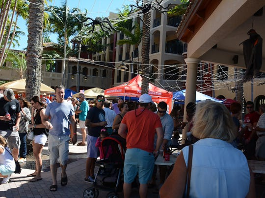 The Marco Island Fire-Rescue Foundation hosted the 4th annual Jerry Adams Chili Cook Off at the Esplanade Saturday afternoon, with 600 people sampling chili from 17 different chefs and organizations.