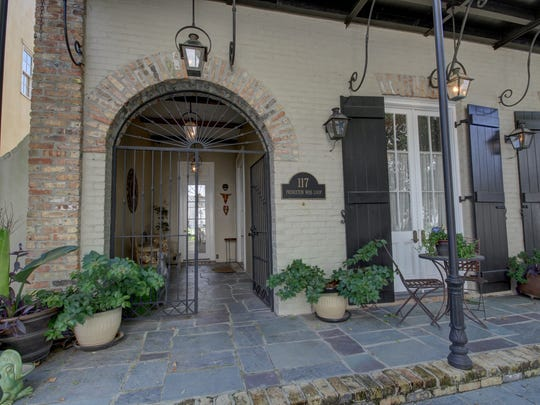 The Rosewalk neighborhood in River Ranch has an old world charm and southern atmosphere.