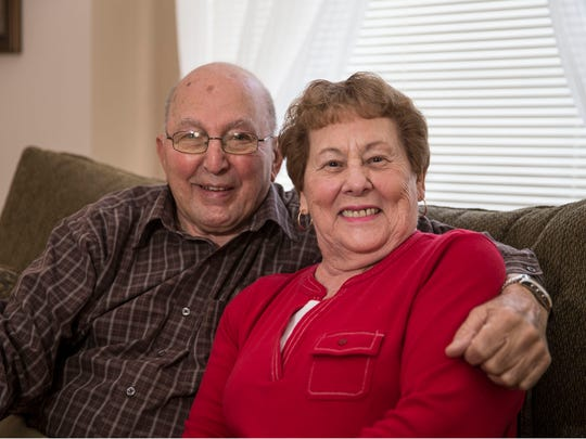 Mike and Judy Maroukis of Toms River volunteer their time helping other senior citizens with everyday tasks.