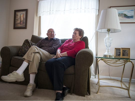 Mike and Judy Maroukis of Toms River volunteer their time helping other senior citizens with everyday tasks such as food shopping, driving, and getting to doctors appointments.