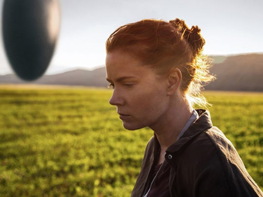 "Amy Adams as Dr. Louise Banks in a scene from the movie ""Arrival,"" directed by Denis Villeneuve. (Paramount Pictures/TNS)"