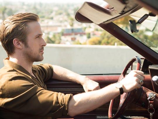 "Ryan Gosling as Sebastian in ""La La Land,"" directed"