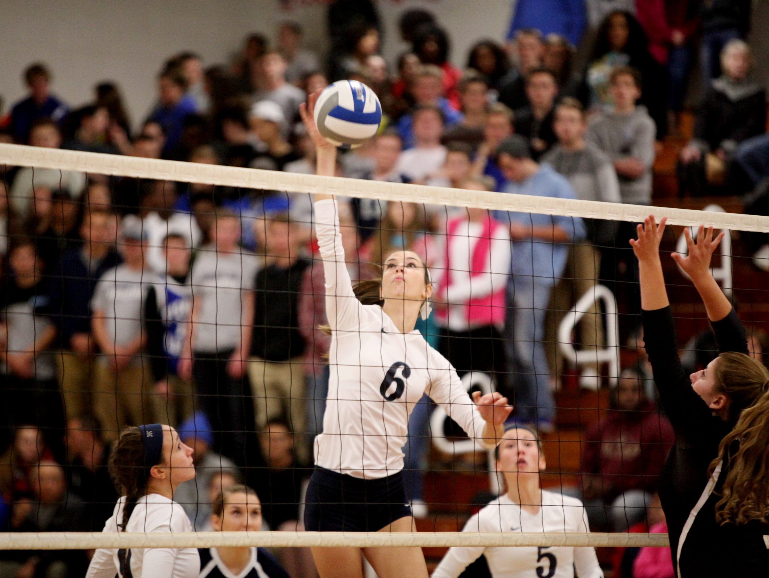 Lee High's Jennifer Williams was named the All-City/County volleyball player of the year for 2016.