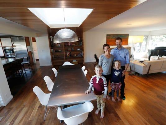 Plain 1950s St. Louis Park rambler becomes midcentury cool 'wow' house