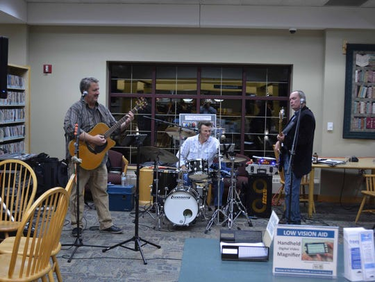 The Shawn Riley Band entertained.