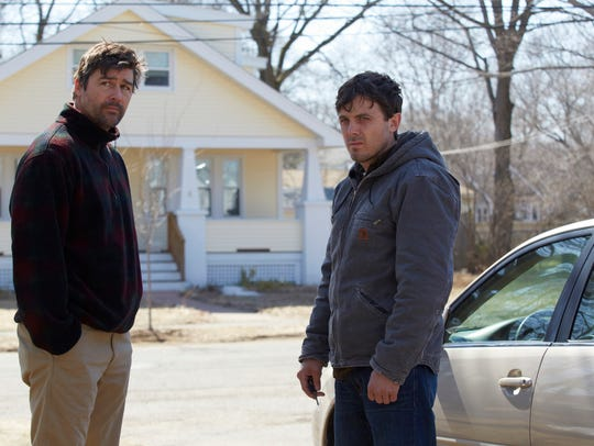 """Kyle Chandler and Casey Affleck in """"Manchester by the"""