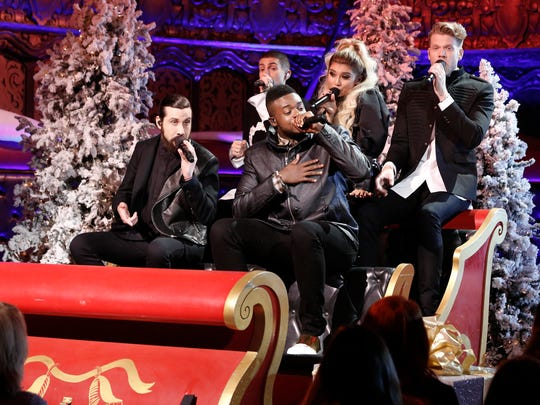 'A Pentatonix Christmas Special' airs on NBC.